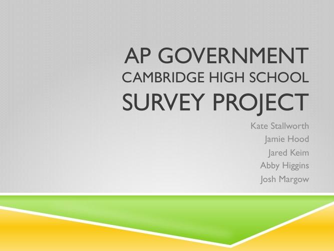 Survey Project
