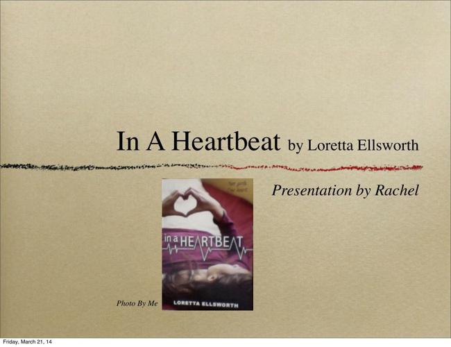 In A Heartbeat Keynote