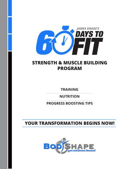 60 days to fit program by bodyshape gym