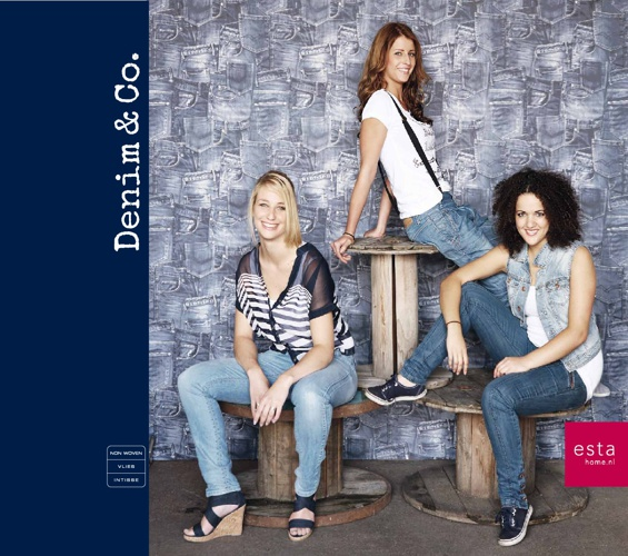 Behangcollectie Denim & Co. ESTAhome.nl