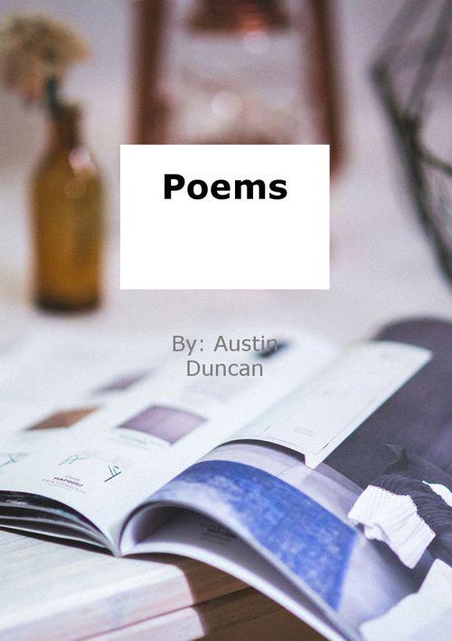 Poem booklet