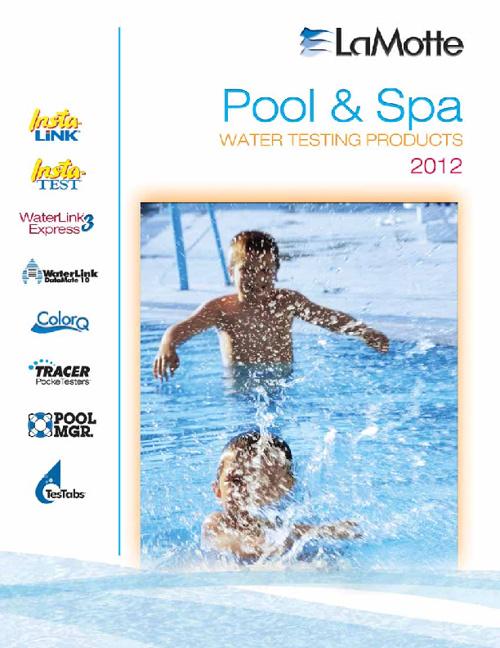 LaMotte Pool and Spa Catalog 2012