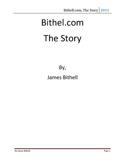 Bithell.com, The Story