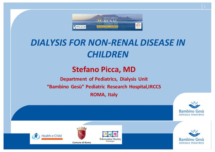 Non renal dialysis