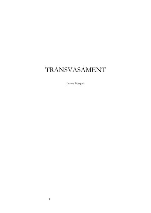TRANSVASAMENT