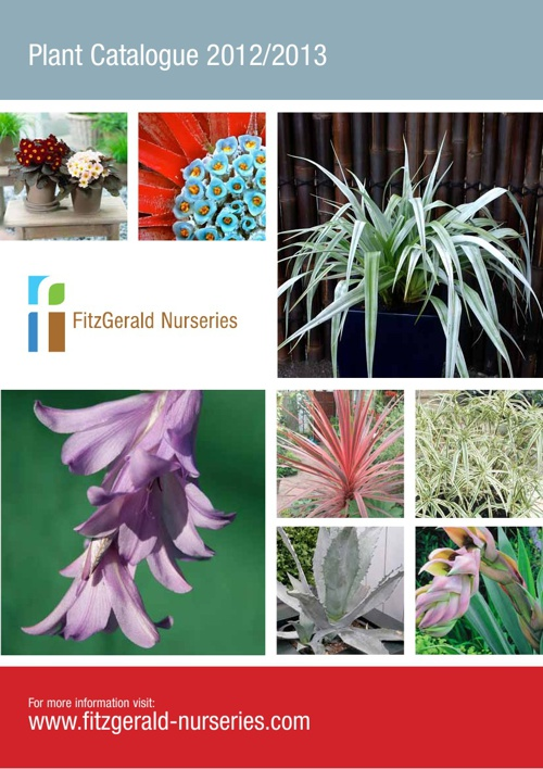 Fitzgerald Nurseries Plant Catalogue 2012/2013