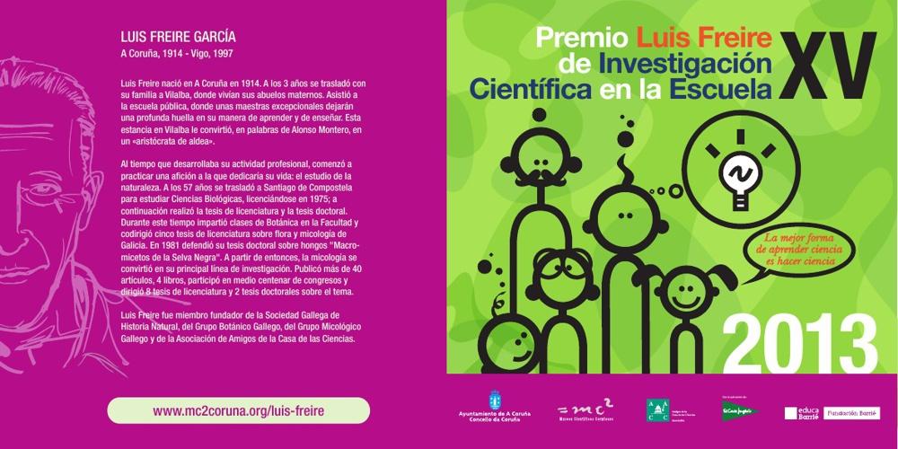 Bases del XV Premio Luis Freire