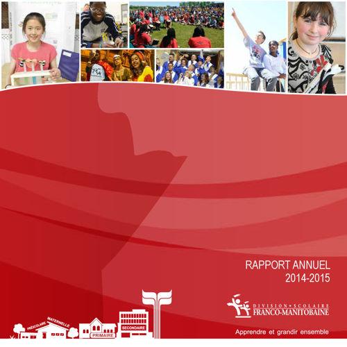 DSFM - Rapport annuel 2014-2015
