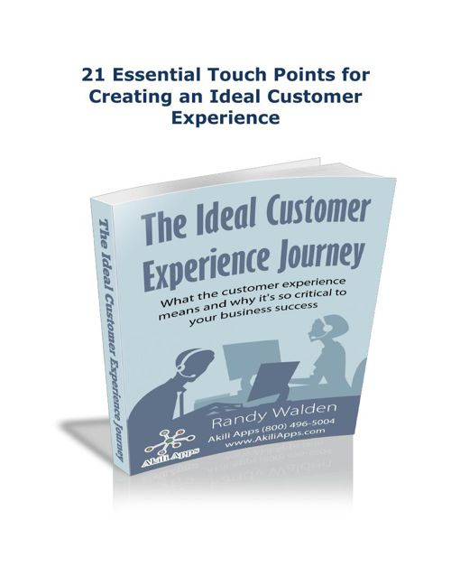 The Ideal Customer Experience