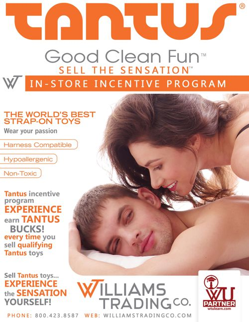 Tantus Sell The Sensation Program Williams Trading Co.