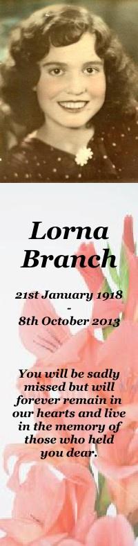 Lorna Branch