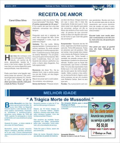Jornal Realengo em Pauta Janeiro 2015