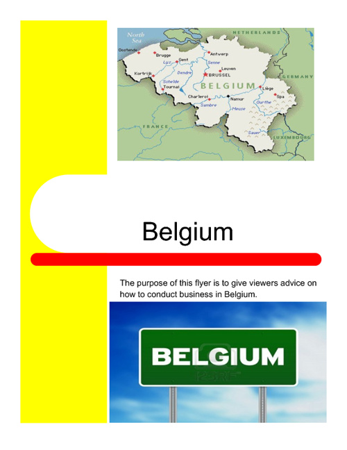 Business in Belgium