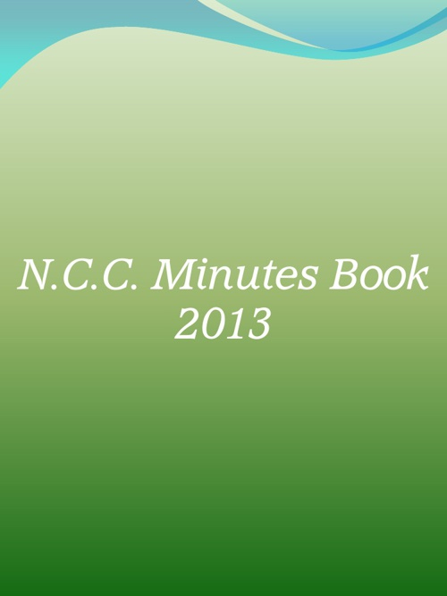 Minutes 2013