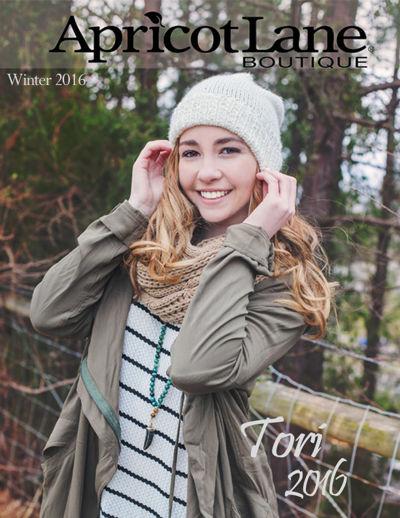 Apricot Lane Winter Look Book ~ CCp Spokes Model Tori 2016