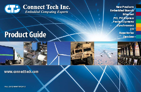 Connect Tech Product Guide - 2012-2013