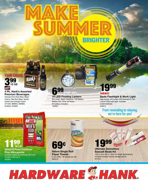 June Flyer - Shelby Paint & Hardware