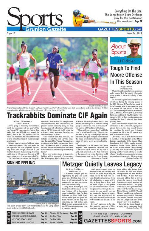 Gazette Sports | May 24, 2012