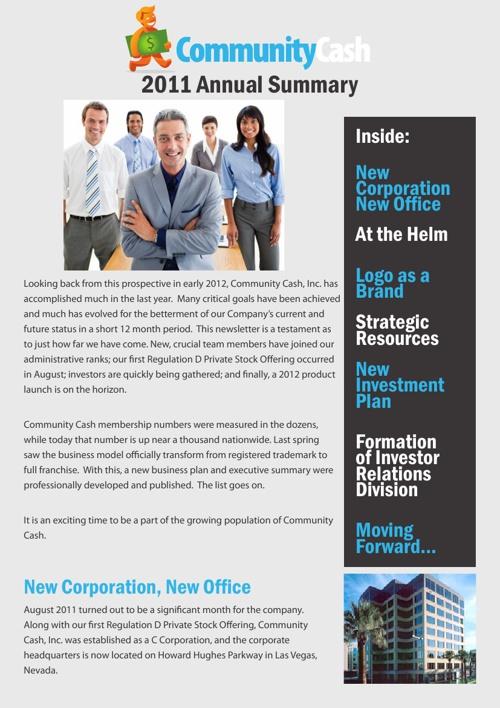 Investor Newsletters
