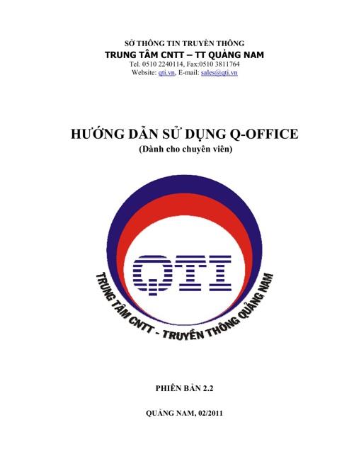 Hướng dẫn sử dụng QLVB&ĐHTN cho chuyên viên