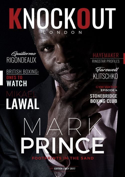KnockOut London Magazine 11 | Mark Prince: Footprints in the San