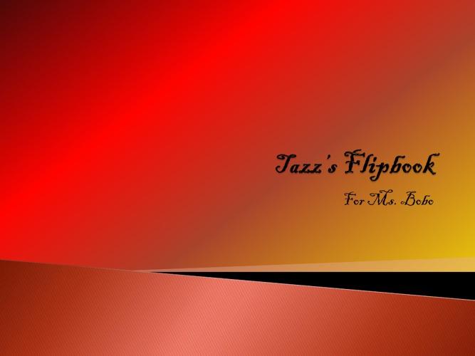 Tazz Gaskin flipbook