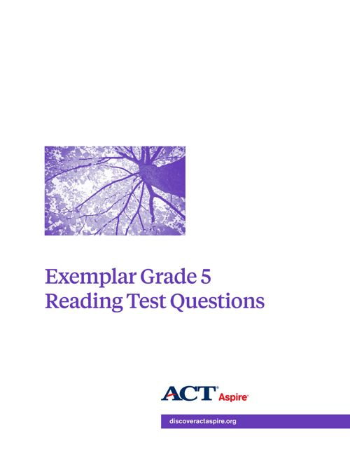 2015 Aspire Exemplar Reading Gr 5-EHS