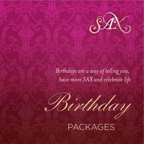SAX Birthday