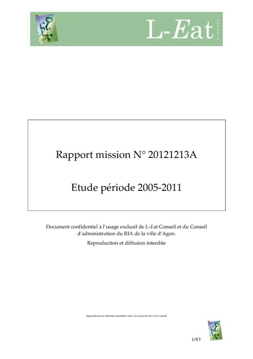 RIA Agen/L-Eat Conseil Mission 20121213A