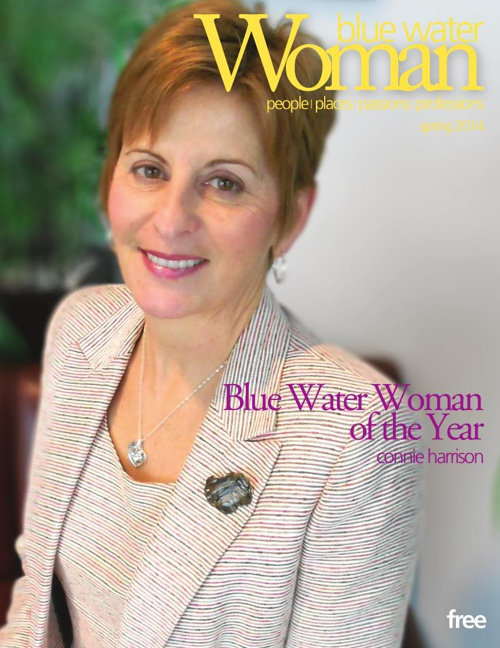 blue water woman--spring 2014
