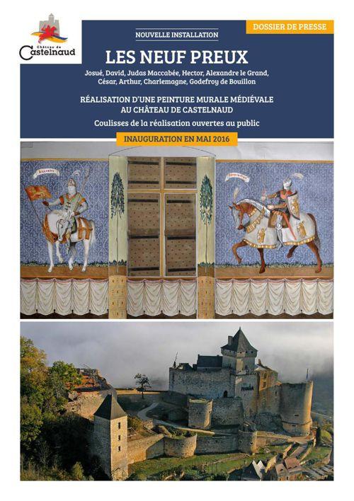 Les Neuf Preux au château de Castelnaud