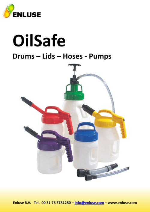 OilSafe assortment (drums/lids/pumps/hoses)