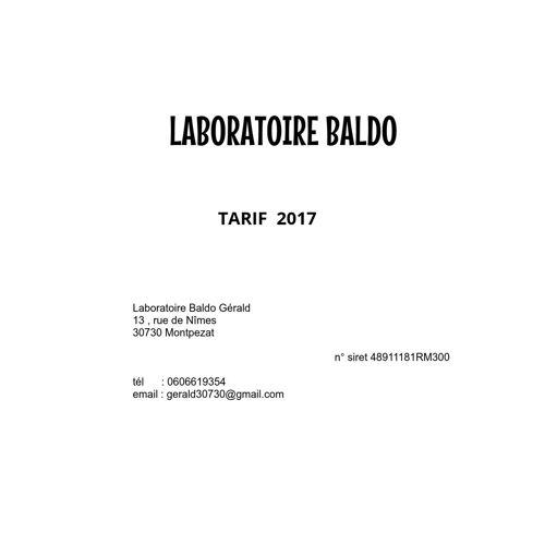 Copy of TARIF 2017