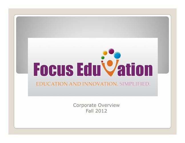 Focus EduVation Deck