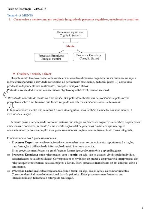 Resumo 1ºTeste-3ºPeriodo