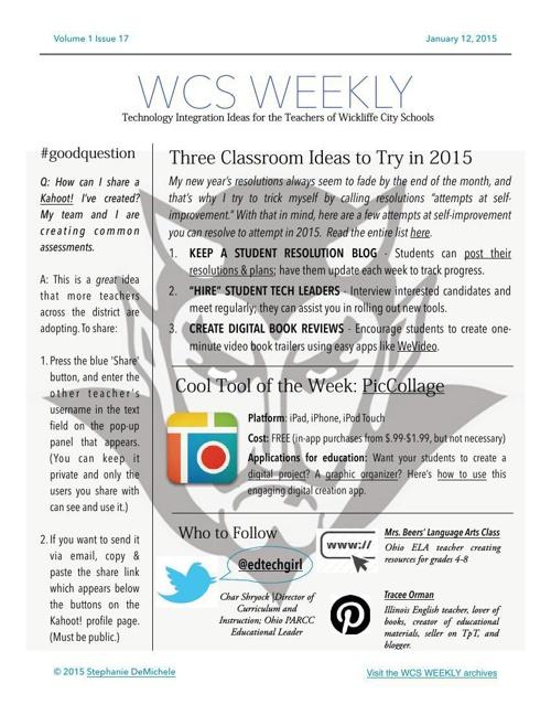 WCS Weekly v.1 i.17 flat