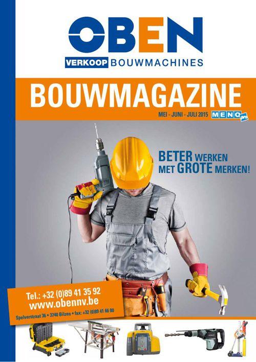 Oben Bouwmagazine 2015