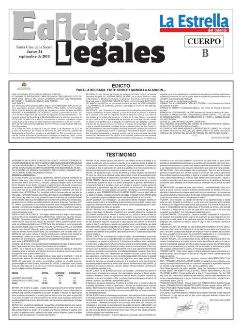 Judiciales 24 jueves - septiembre 2015