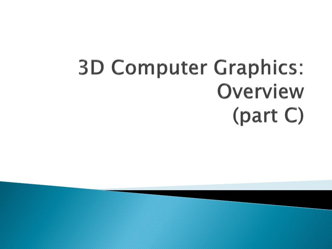 KMK 2033 Computer Graphics (Shelf 5)