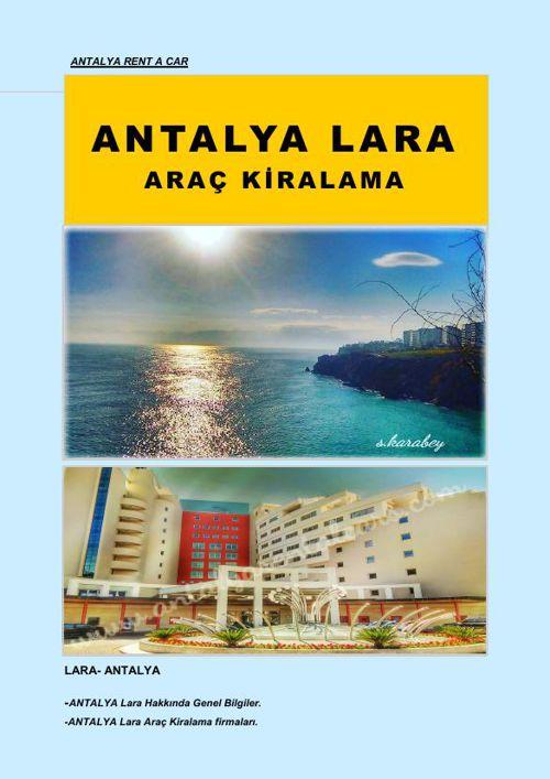 Antalya Lara Araç Kiralama