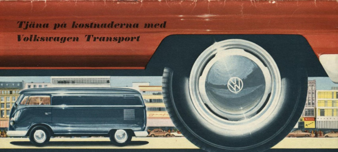 1959 - Tjäna på kostnaderna med Volkswagen Transport