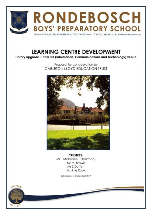 Learning Centre Upgrade