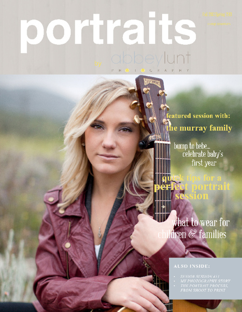 Portrait Welcome Magazine