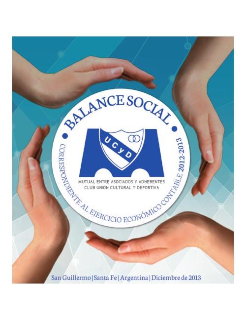 BALANCE SOCIAL 2012-2013