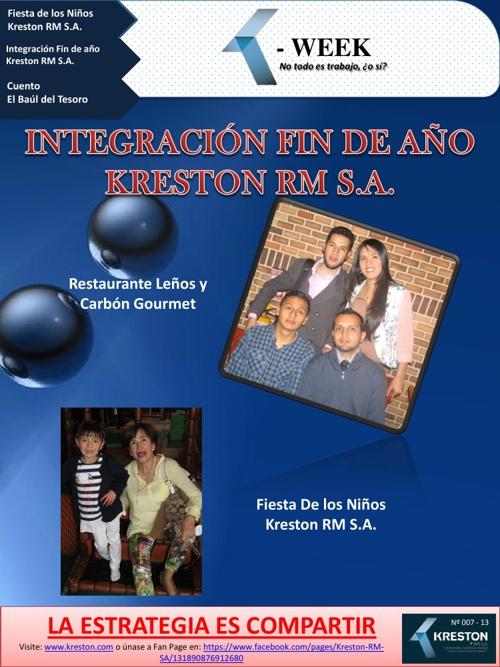 Boletín Social K - WEEK