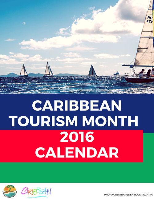 Caribbean Tourism Month Calendar 2016