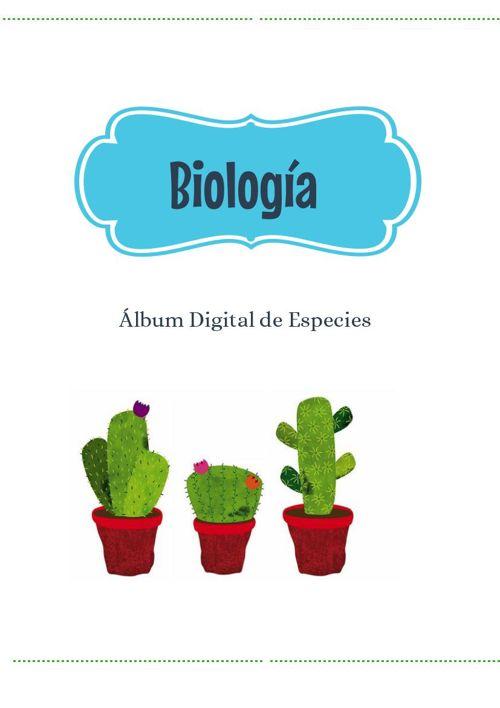 Álbum Digital de Especies