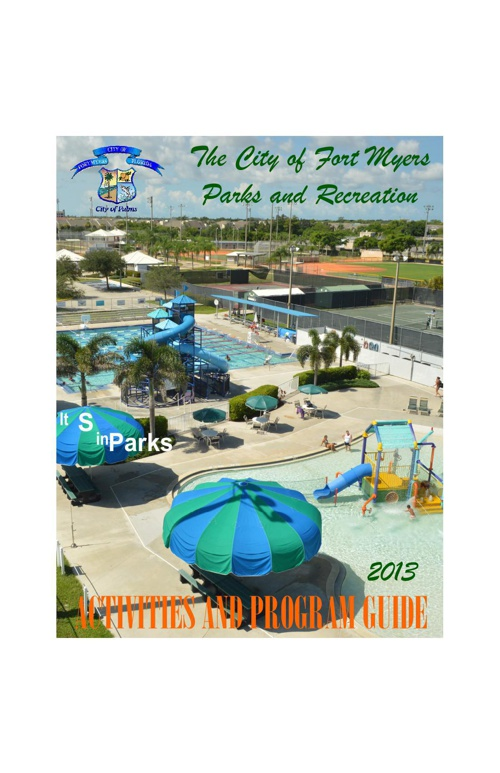 2013 Parks and Recreation Program Guide