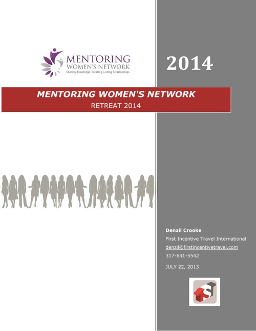 Mentoring Women's Network Retreat 2014 Proposal