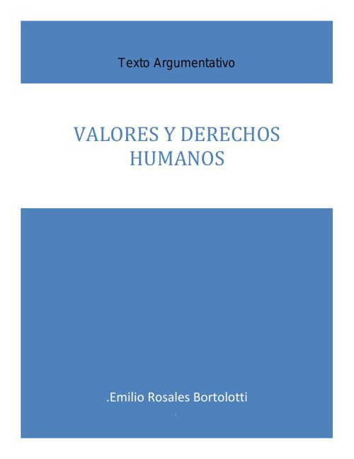 Articulo Los derechos humanos